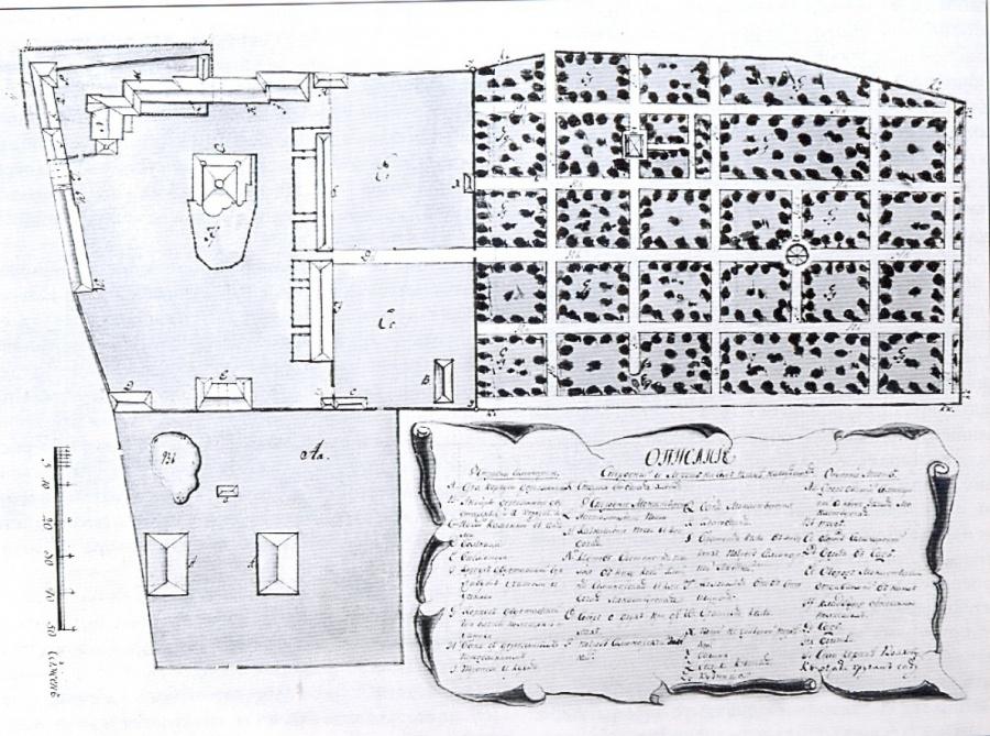 План Антониева монастыря.